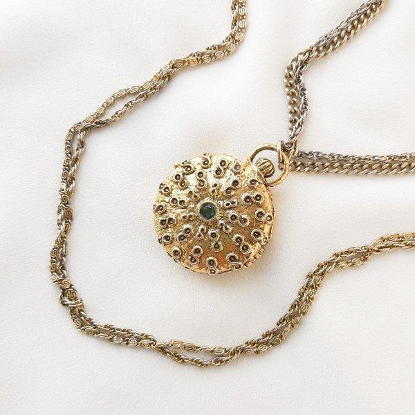 Винтажный роуп с медальоном от Goldette это настоящий редкий винтаж