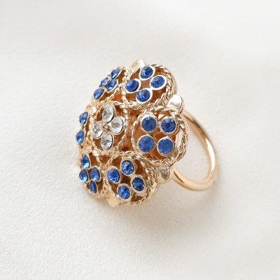 Винтажное кольцо «Берлинская лазурь» от Sarah Coventry