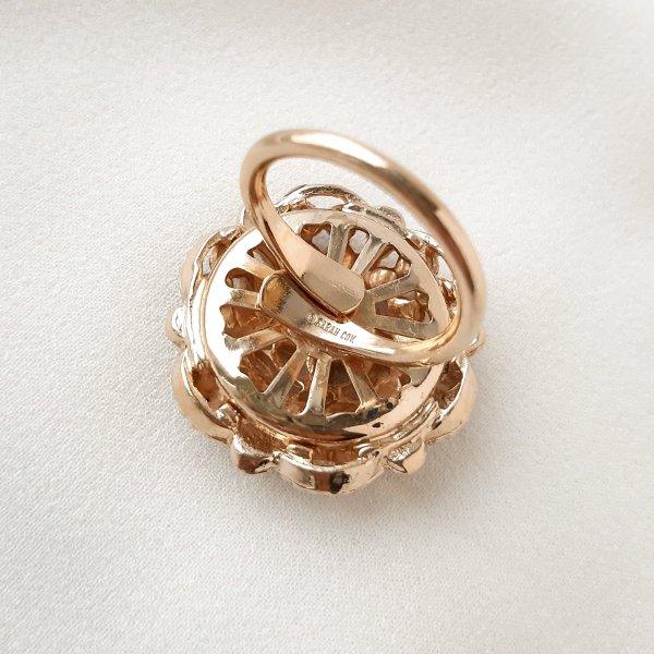 Винтажное кольцо «Берлинская лазурь» от Sarah Coventry это настоящая бижутерия класса люкс