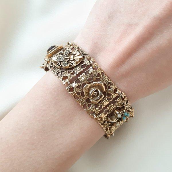 Винтажный браслет «Реликвия» от Goldette редкие антикварные украшения