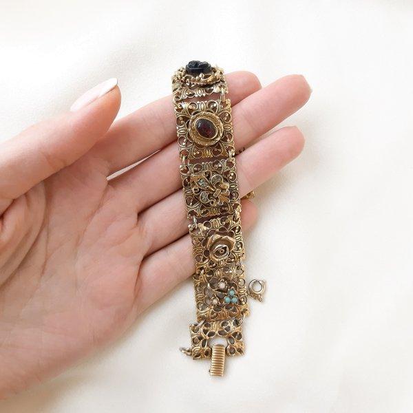 Винтажный браслет «Реликвия» от Goldette оригинальный и эксклюзивный подарок девушке