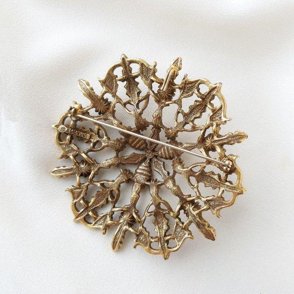 Винтажная брошь - кулон «Аристократия» от Emmons редкие антикварные украшения