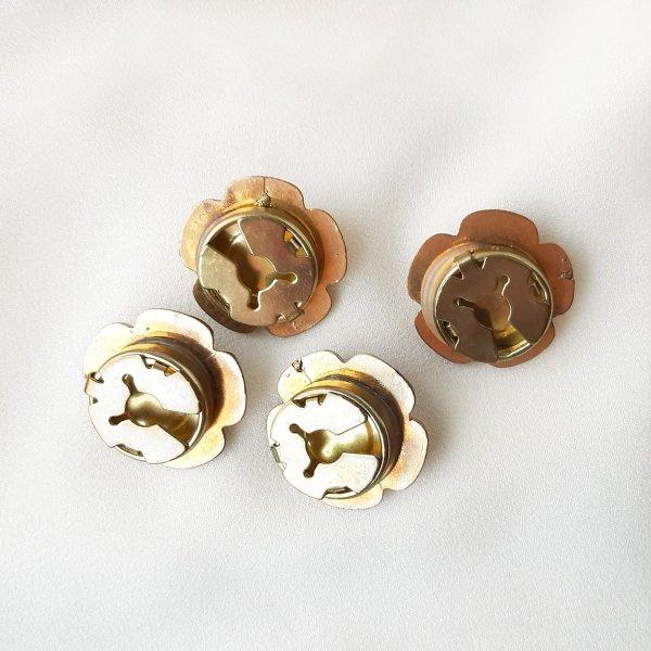 Винтажные накладки на пуговицы «Цветочки» оригинальный и эксклюзивный подарок девушке