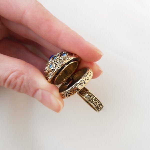 Старинный перстень «Забвение» от Florenza это настоящая бижутерия класса люкс