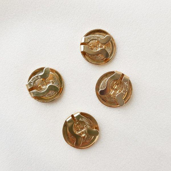 Винтажные накладки на пуговицы от Avon оригинальный и эксклюзивный подарок девушке