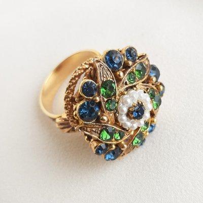 Винтажное кольцо «Эпоха Тюдоров» от Florenza
