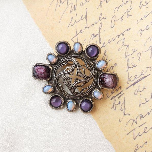 Винтажная брошь «Древняя магия» от марки Miracle Купить