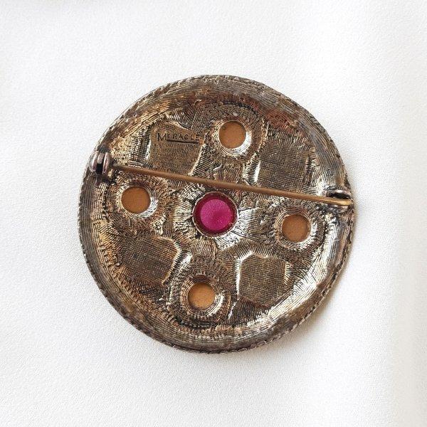 Винтажная брошь «Лунный талисман» от марки Miracle Купить с доставкой