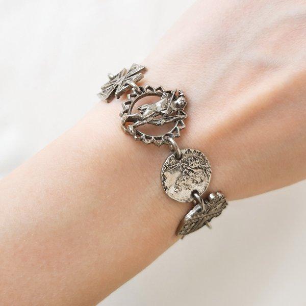 Винтажный браслет «Геральдика» от Art редкие антикварные украшения