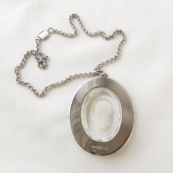 Винтажный кулон с инталией от WHITING DAVIS оригинальный и эксклюзивный подарок девушке