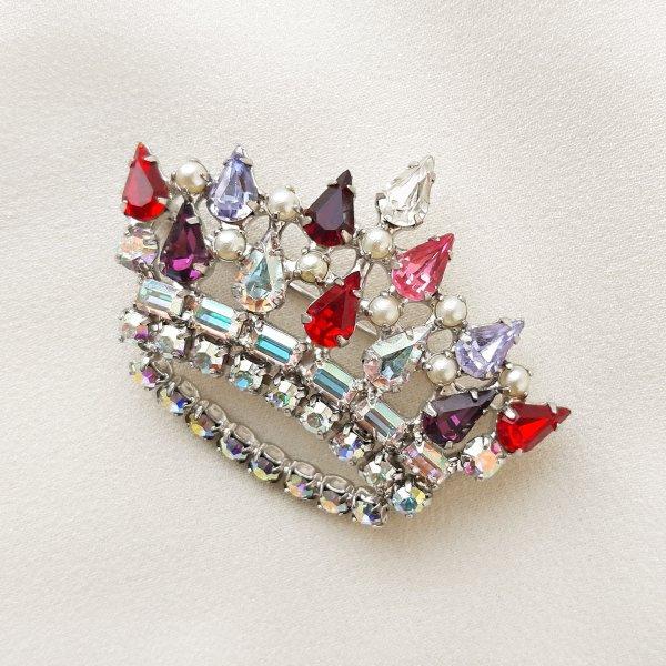 Винтажная брошь «Королевская корона» от B. David редкие антикварные украшения