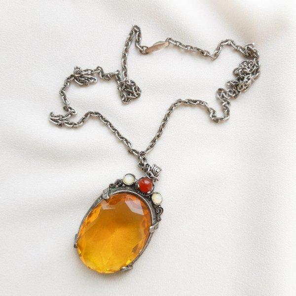 Винтажный кулон «Самородок» от Miracle редкие антикварные украшения