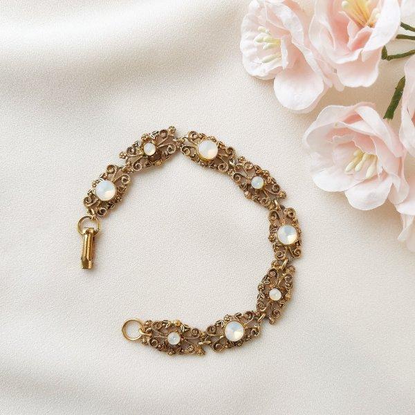 Винтажный браслет «Лунный свет» от Goldette Купить