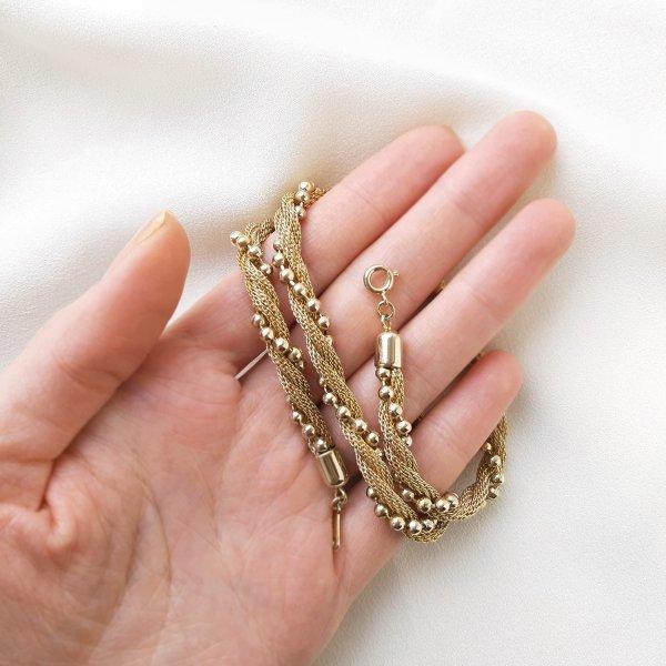 Винтажная цепочка - шнур от Avon для самых оригинальных и стильных