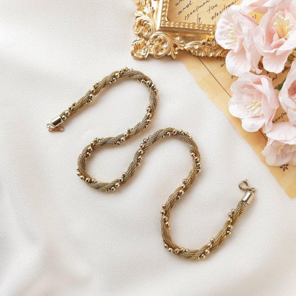 Винтажная цепочка - шнур от Avon оригинальный и эксклюзивный подарок девушке