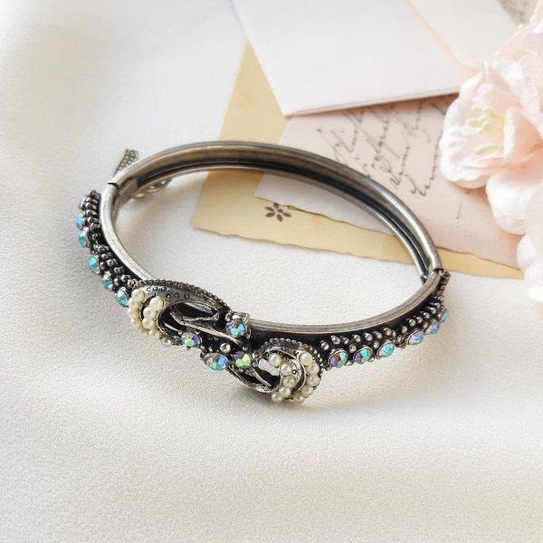 Винтажный браслет - клампер «Ваше Величество» от Florenza Купить