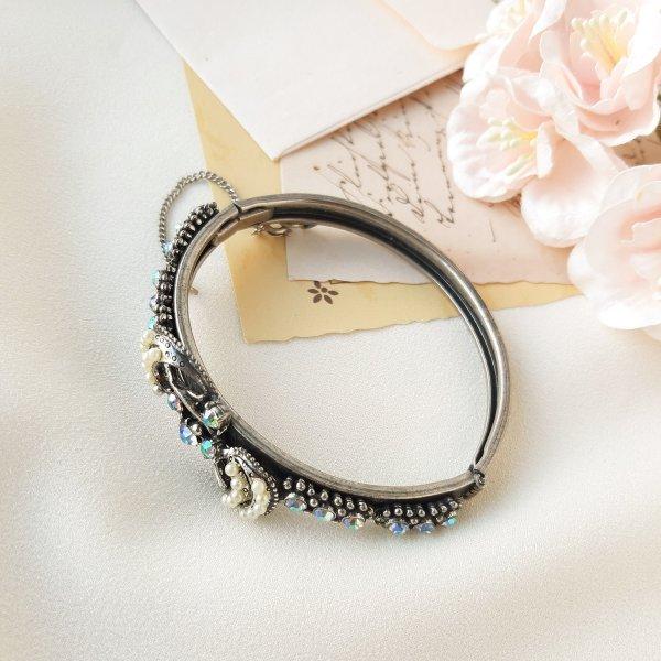 Винтажный браслет - клампер «Ваше Величество» от Florenza Купить с доставкой