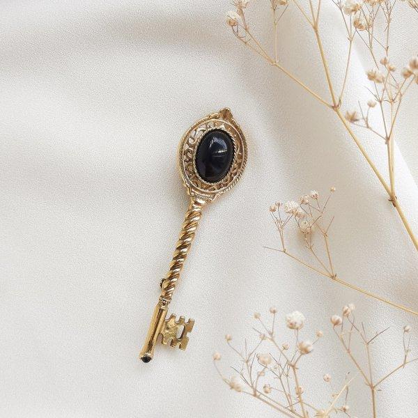 Винтажная брошь «Золотой ключ» от 1928 Jewelry Купить