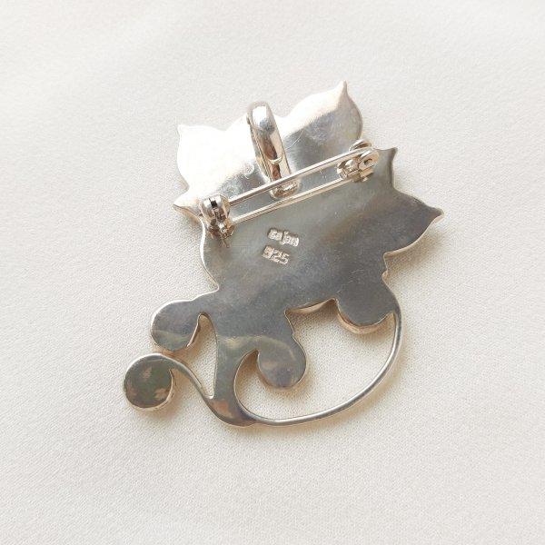 Винтажная брошь - кулон «Волшебный цветок» от Sajen Купить антиквариат