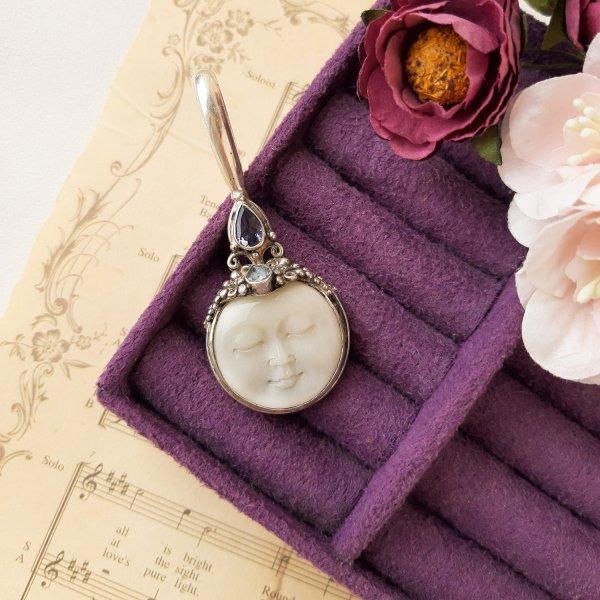 Винтажный кулон «Луна» от Sajen Купить винтаж