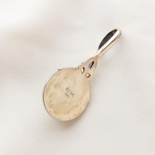 Винтажный кулон «Луна» от Sajen Купить бижутерию