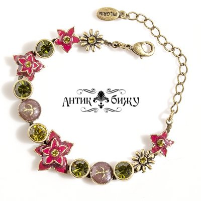 Винтажный браслет «Весна» от Pilgrim