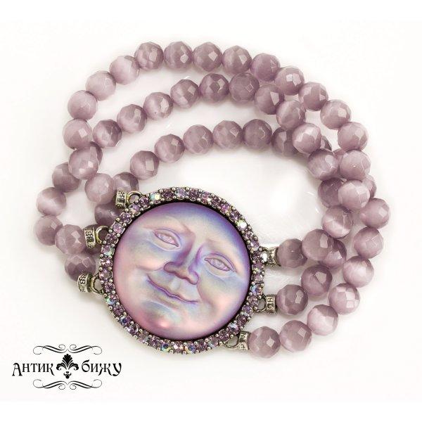 Редкий винтажный браслет «Луна» от Kirks Folly для любителей старины и антиквариата