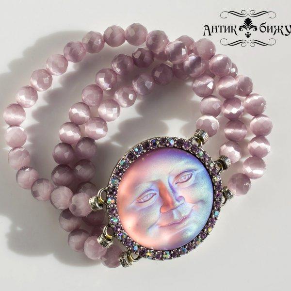 Редкий винтажный браслет «Луна» от Kirks Folly для самых оригинальных и стильных