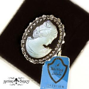 Винтажное дизайнерское кольцо  «Дама сердца» от Whiting and Davis