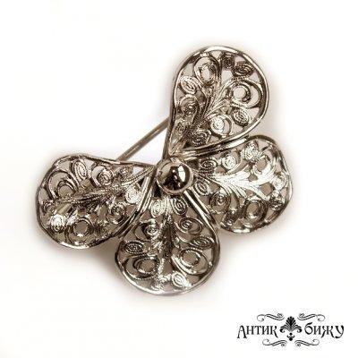 Винтажная брошь «Бабочка» от Еmmons