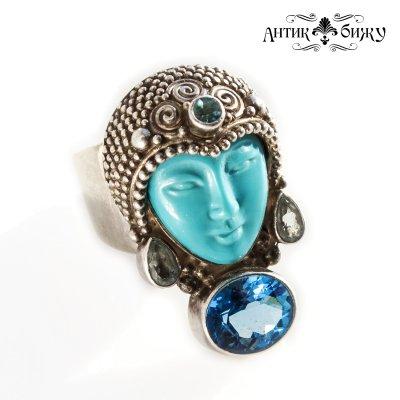 Винтажное кольцо «Богиня» от Sajen