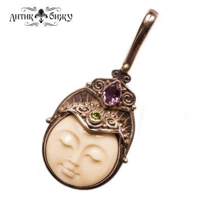 Винтажный кулон «Спящая богиня» от Sajen
